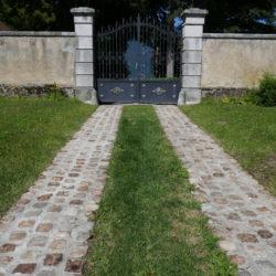 Matériaux anciens_paves_entiers_granit_Fontainebleau