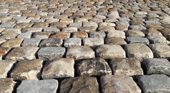 Matériaux anciens Pavés entiers Fontainebleau