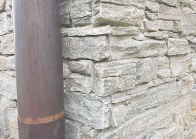 Placage mur en Pierre des Alpes