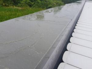 margelle piscine grès d'orient gris nez arrondi